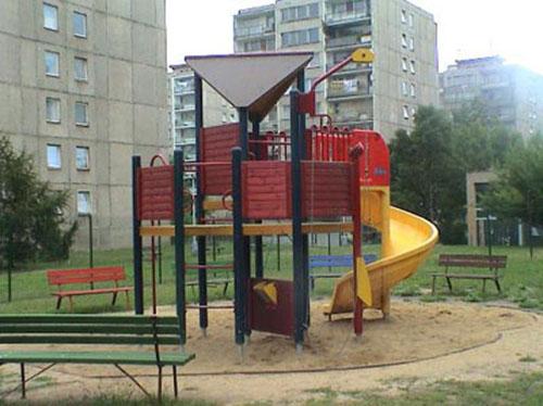 Dětské skluzavky v Praze 3
