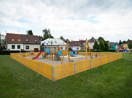 Rákosníčkovo dětské hřiště Hlinsko