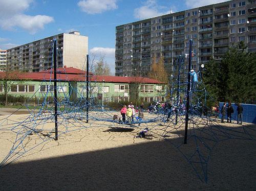 Dětská hřiště v Praze