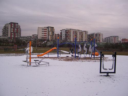 Dětské hřiště Hagspraha Zličín 2